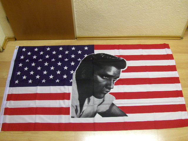 USA Elvis NEU - 90 x 150 cm