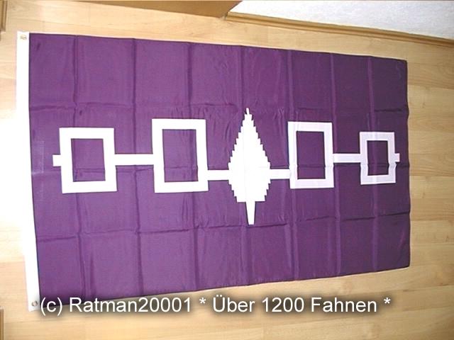 USA Irokesen Bund - 90 x 150 cm