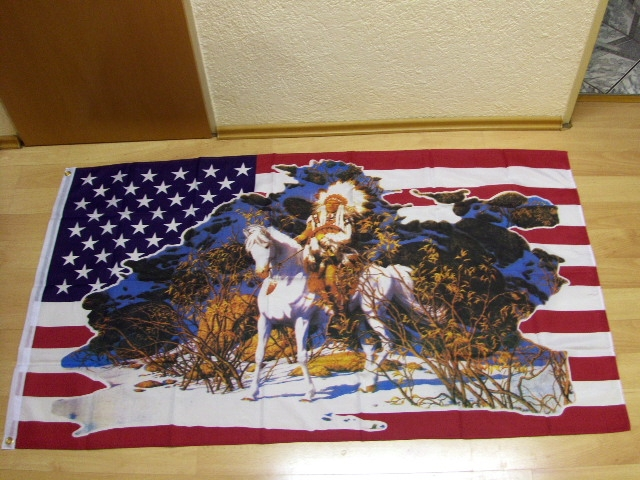 USA Pferd Indianer VALLEY OF SPIRITS - 90 x 150 cm