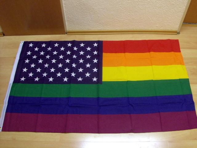 USA Regenbogen - 90 x 150 cm