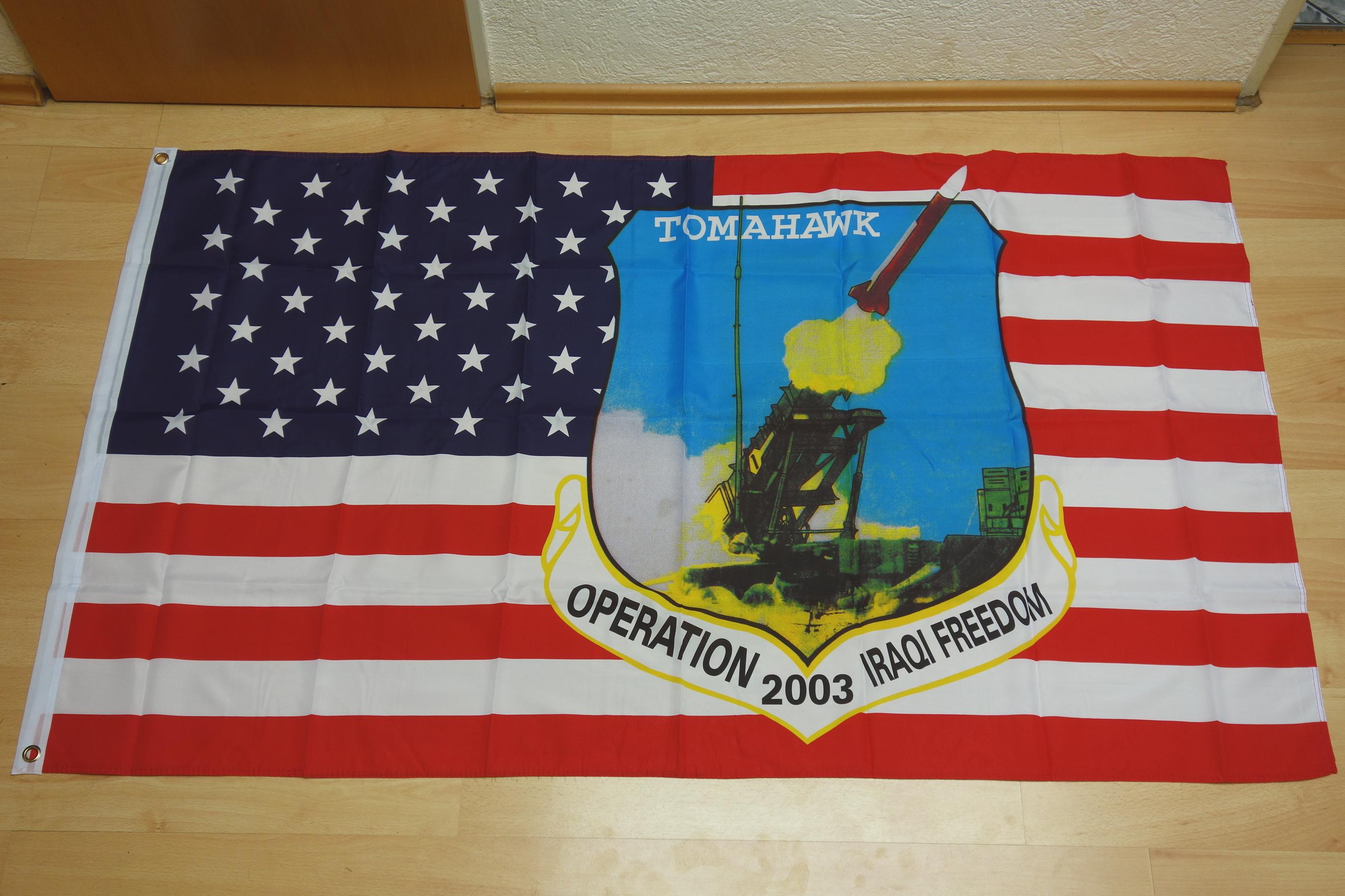 USA Tomahawk - 90 x 150 cm