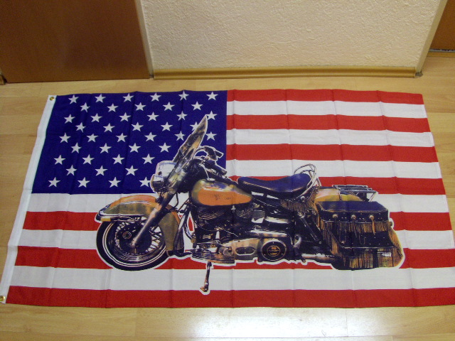 USA mit Big Indian - 90 x 150 cm