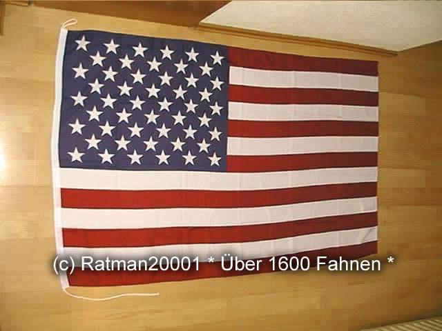 USA mit Seil - 100 x 150 cm