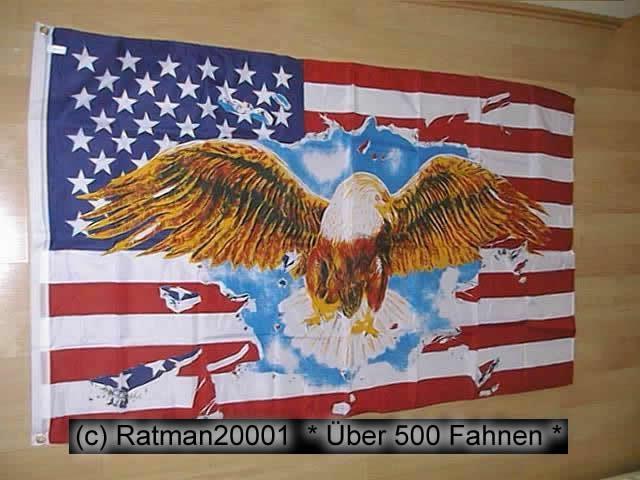 USA Breiter Adler - 90 x 150 cm