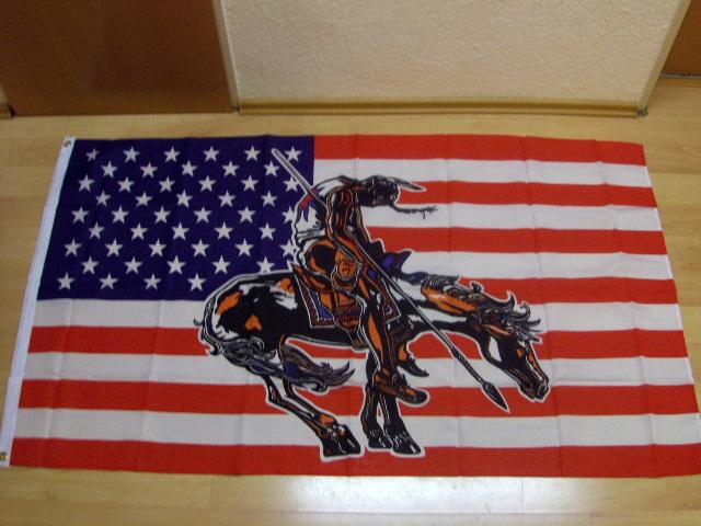 USA End of Trail - 90 x 150 cm