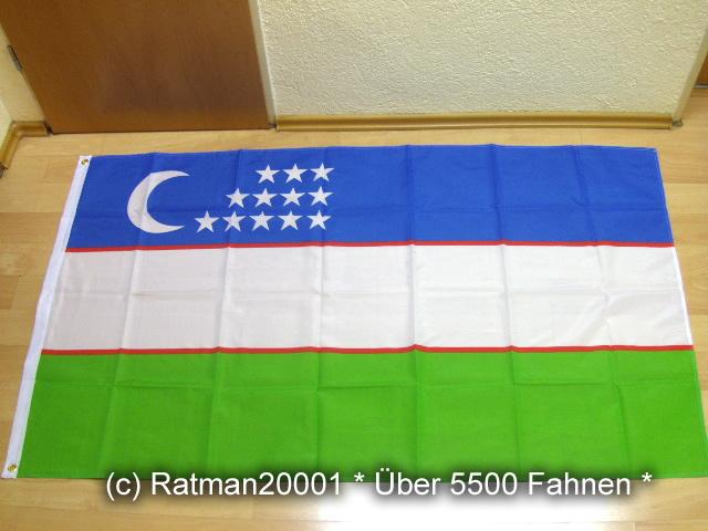 Uzbekistan Usbekistan - 90 x 150 cm