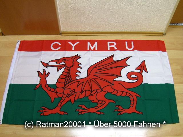 Wales CYMRU - 90 x 150 cm