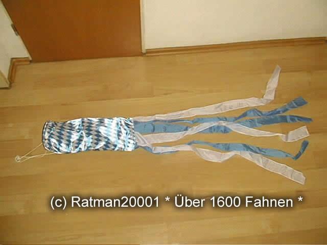 Windsack Bayern Raute - 15 - 140 cm