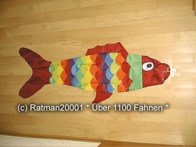 Windsack Fisch -1 - 140 cm