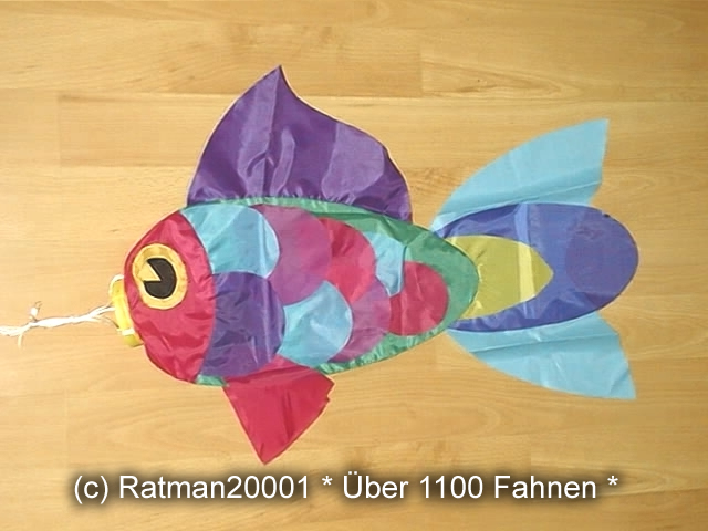 Windsack Fisch - 20 - 78 cm