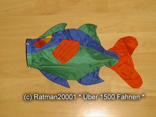 Windsack Fisch - 4 - 55 cm