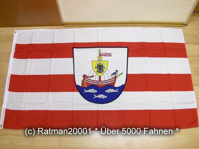 Wismar mit Wappen - 90 x 150 cm
