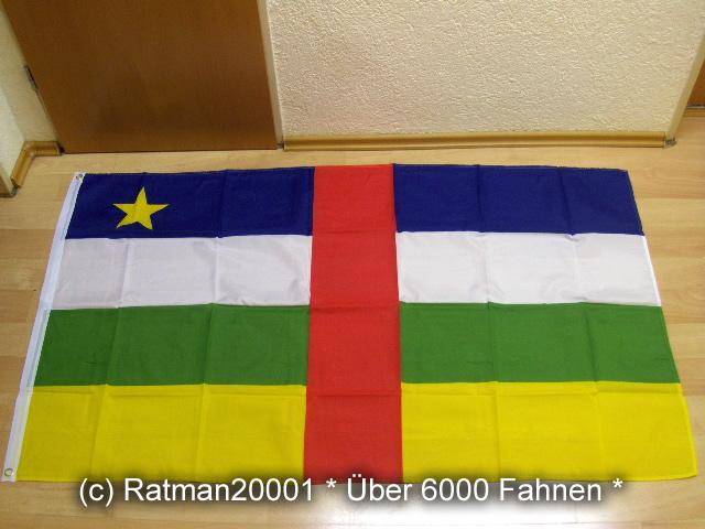 Zentralafrikanische Republik - 90 x 150 cm
