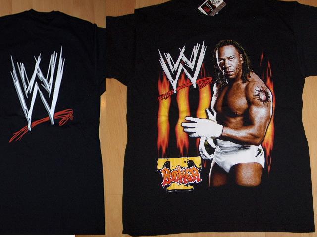 T-Shirt Booker-T-Fire-Gr.M